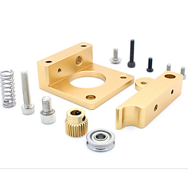 MK8 extruder aluminiumsblokk MakerBot ekstruderingshodet aluminiumsblokk for 3d printer