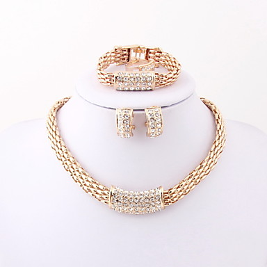 Fashion new neclace set for women(necklace,ring,earrings,bracelet)jewelry sets