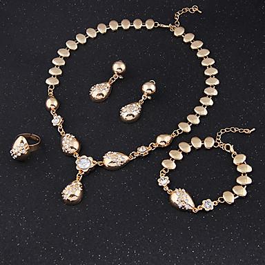 Damskie Zestawy biżuterii Cuff Vintage Urocza Imprezowa Na co dzień Łańcuszek Modny Wyrazista biżuteria Słodkie Style Impreza Specjalne