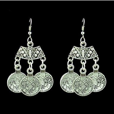Kolczyk Kolczyki wiszące Biżuteria 2pcs Stop Damskie Srebrne