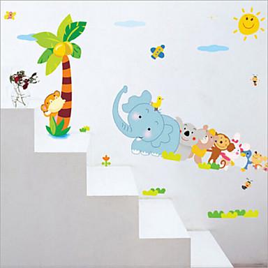 Dekorative Wand Sticker - Tier Wandaufkleber Tiere / Stillleben / Romantik Wohnzimmer / Schlafzimmer / Studierzimmer / Büro / Abziehbar