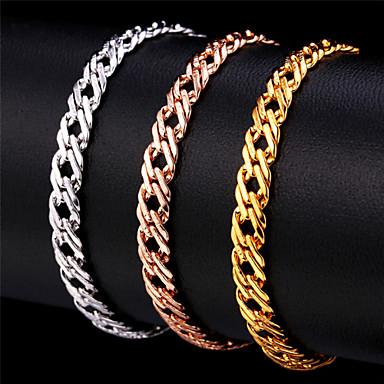 Chain Bracelet / Bracelet - Rose Gold, Rose Gold Plated Vintage, Party, Work Bracelet Gold / Silver / Rose Gold For Special Occasion / Birthday / Gift