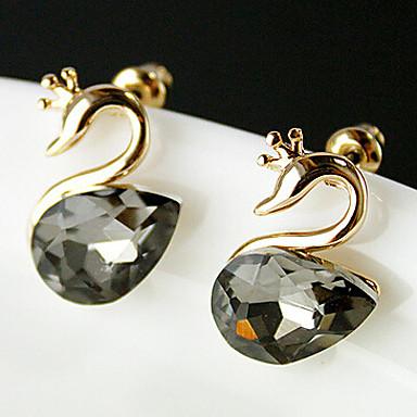 Kolczyk Kolczyki na sztyft Biżuteria 2pcs Stop Damskie Srebrne