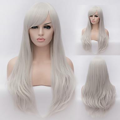 Ευρώπης και της Αμερικής υψηλής ποιότητας καλώδιο υψηλής θερμοκρασίας φυσική τρίχα περούκα κορίτσι της μόδας είναι απαραίτητο