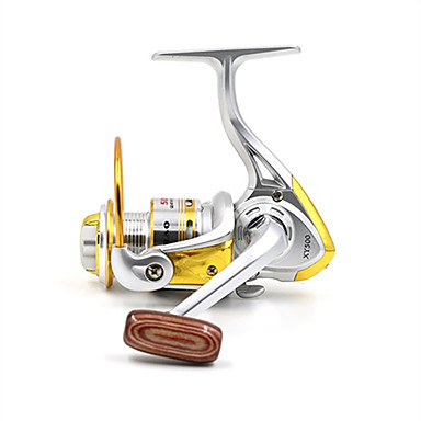 Fishing Reel Spinning Reel 5.2:1 Gear Ratio+10 Ball Bearings Hand Orientation Exchangable Bait Casting Ice Fishing Spinning Freshwater