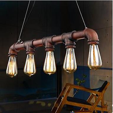 Retro LED Pendelleuchten Raumbeleuchtung Für Esszimmer Studierzimmer/Büro Weiß 110-120V 220-240V 110-120V 220-240V Glühbirne nicht