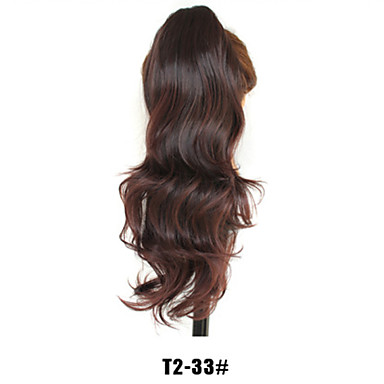 The Eu's Trade Fashion Lady Natural Curved Hair Claw Clip Horsetail T2-33 # Color