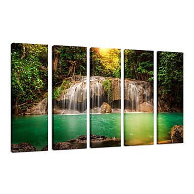 Krajobraz Wypoczynek Nowoczesny Romantyczne Podróże Trzy panele Pionowy Wydrukować wall Decor For Dekoracja domowa