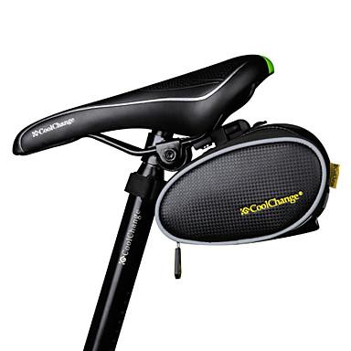 저렴한 자전거 가방-CoolChange 4 L 자전거 새들 백 방수 수분 방지 착용 가능한 자전거 가방 TPU 싸이클 가방 싸이클 백 사이클링 / 자전거