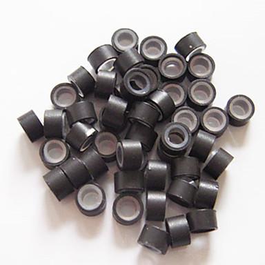 Μικροί Κύκλοι/Θηλιές Εργαλεία για Εξτένσιον Σιλικόνη Εργαλεία περούκες μαλλιά