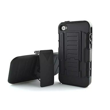 Case Kompatibilitás iPhone 4/4S Héjtok Kemény PC mert iPhone 4s/4