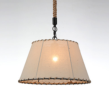 Rustic/Lodge Vintage Globe Country Traditional/Classic Retro Modern/Contemporary Mini Style Pendant Light Downlight For Bedroom Dining