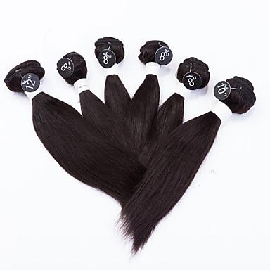 Υφάνσεις ανθρώπινα μαλλιών Βραζιλιάνικη Drept υφαίνει τα μαλλιά