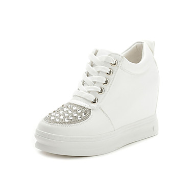 women's shoes wedge heel wedges/round toe fashion sneakers