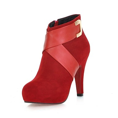 official photos 59a51 30c57 Women Ankle Boots New Promotion Sexy Spiked High Heels Red ...