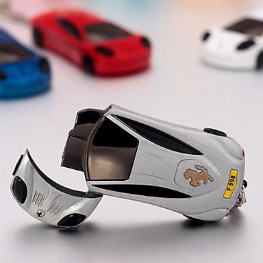 гоночный автомобиль форме Jet факел зажигалка Ferarri факел легче с ключевой цепью (случайный цвет)