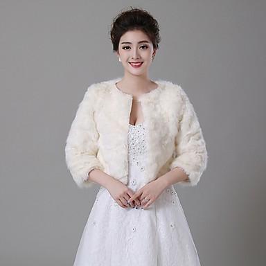 Faux Fur Wedding Party/Evening Wedding  Wraps Fur Wraps Fur Coats Coats/Jackets