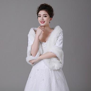 Faux Fur Wedding Fur Wraps Shawls