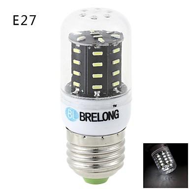 BRELONG® 600lm E14 G9 E26 / E27 LED Mais-Birnen T 36 LED-Perlen SMD 3014 Warmes Weiß Kühles Weiß 220-240V
