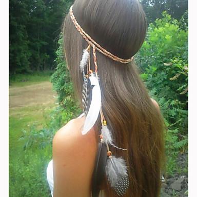 Kadın's Zarif Tüy Saç Bandı
