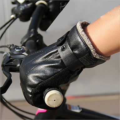 BOODUN® Aktivite / Spor Eldivenleri Bisiklet Eldivenleri Nem Geçirgenliği / Nefes Alabilir / Darbeye Dayanıklı Uzun Parmak Deri Serbest