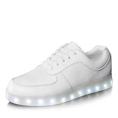 Для женщин Для мужчин обувь Дерматин Весна Лето Осень Зима Обувь с подсветкой Шнуровка Назначение Атлетический Повседневные Для вечеринки