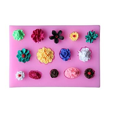 Backwerkzeuge Silikon Gummi Umweltfreundlich / 3D Kuchen / Obstkuchen / Chocolate Backform 1pc
