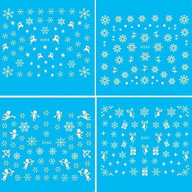 3D Nail Stickers - Muuta - Abstrakti / Lovely - Sormi - 25X16X0.1 - 1