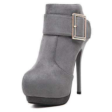 d78ec8fd Zapatos de mujer - Tacón Stiletto - Tacones / Plataforma / Comfort / Punta  Redonda /
