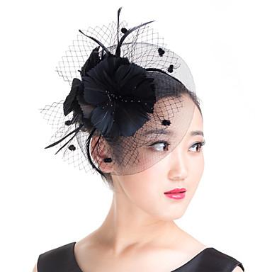 Edelstein & Kristall / Künstliche Perle / Feder Fascinatoren / Kopfbedeckung mit Kristall 1 Hochzeit / Besondere Anlässe / Party / Abend Kopfschmuck