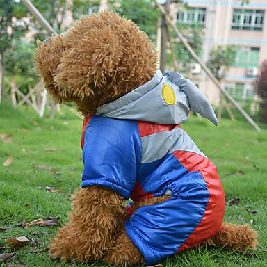 Chien Costume Manteaux Tenue Vêtements pour Chien Cosplay Halloween Arc-en-ciel Costume Pour les animaux domestiques