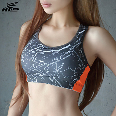 Damen Patchwork Yoga Top Sport Neuheit Sport-BHs / Oberteile Yoga, Übung & Fitness Ärmellos Sportkleidung Atmungsaktiv, Leichtes Material