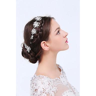 Women's Silver / Alloy Headpiece - Wedding / Special Occasion / Casual Headbands / Hair Clip / Hair Pin 3 Pieces