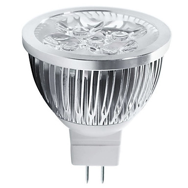 4 W 400-450 lm GU5.3(MR16) LED Spot Lampen MR16 5 LED-Perlen Hochleistungs - LED Dekorativ Warmes Weiß / Kühles Weiß 12 V / 1 Stück / RoHs / CCC