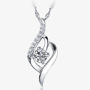 Women's Pendant Sterling Silver Alloy Pendant , Daily Casual Sports