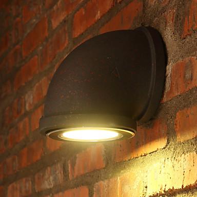 Rustikk / Hytte Vegglamper Metall Vegglampe 110-120V / 220-240V MAX 7W