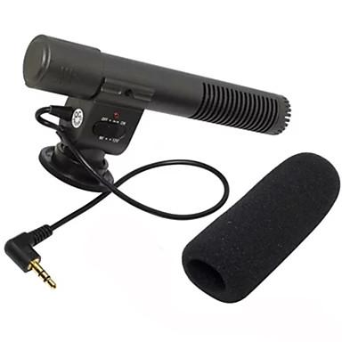 마이크 3.5mm의 오디오 인터페이스와 SLR 카메라 용 마이크 외부 스테레오 녹음 마이크