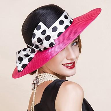 voordelige Hoeden-Polyesteri Kentucky Derby Hat / hatut met 1 Causaal / ulko- Helm