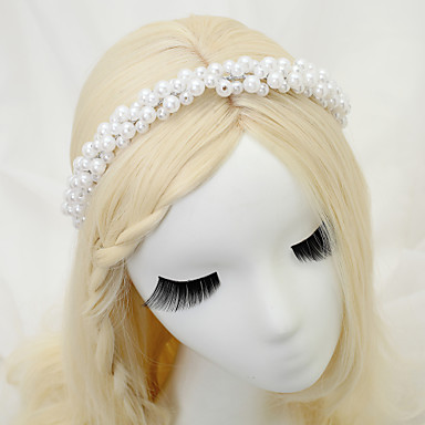 Imitation Pearl Alloy Headbands 1 Wedding Special Occasion Birthday Party / Evening Headpiece