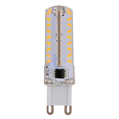 YWXLIGHT® 630 lm E14 G9 G4 LED-maissilamput T 72 ledit SMD 3014 Himmennettävissä Lämmin valkoinen Kylmä valkoinen AC 220-240V