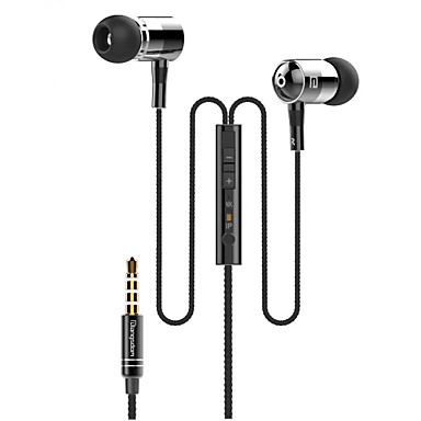 langsdom I-1 3.5mm wysokiej jakości mikrofon z redukcją szumów w ucho słuchawki dla iPhone i innych telefonów