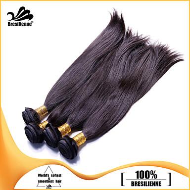 Człowieka splotów włosów Włosy brazylijskie Düz 4 elementy sploty włosów