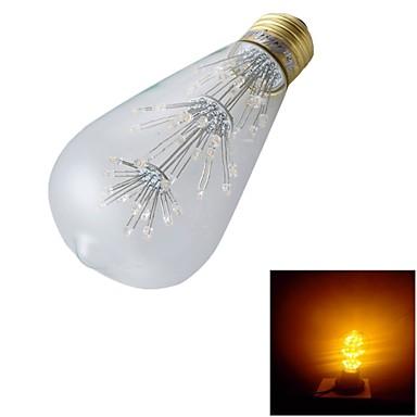 YouOKLight 1pc 130lm E26 / E27 LED Kugelbirnen ST64 47 LED-Perlen Dip - Leuchtdiode Dekorativ Warmes Weiß 220-240V