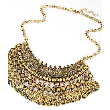 ebb1cc4f124 Women's Statement Necklace Ladies European Fashion Indian Gold Black Silver  Necklace Jewelry For Special Occasion Birthday Gift