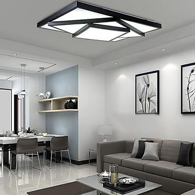 Modern / Zeitgenössisch Unterputz Raumbeleuchtung - LED, 90-240V, Wärm Weiß Weiß, LED-Lichtquelle enthalten