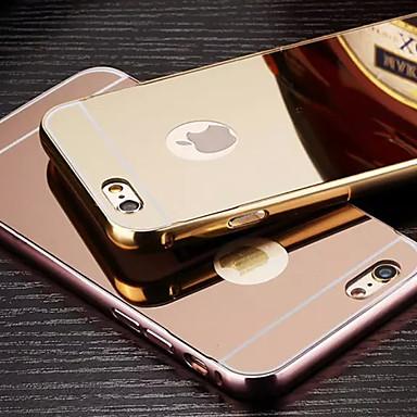 Etui Til Apple iPhone 6 Plus / iPhone 6 Belegg / Speil Bakdeksel Ensfarget Hard Metall til