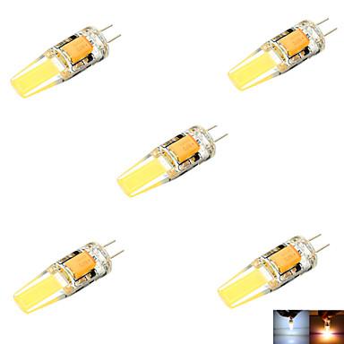abordables Ampoules électriques-ywxlight® g4 200-300lm torchis led bi-pin lumières blanc chaud blanc froid blanc naturel led ampoule de maïs lustre lampe dc 24v ac 24v ac 12v