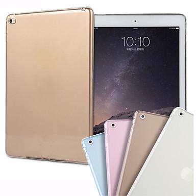 Case Kompatibilitás iPad Air 2 Átlátszó Fekete tok Tömör szín TPU mert iPad Air 2