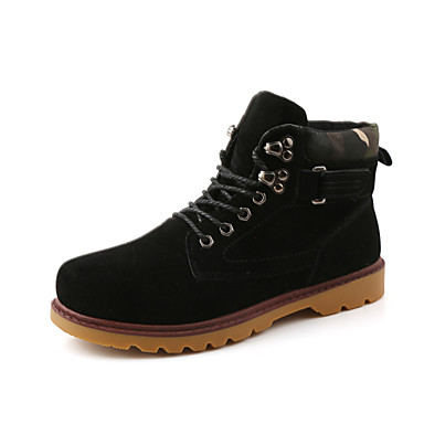 Men's Shoes Outdoor / Office & Career / Casual Boots Black / Brown / Yellow