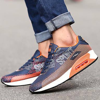 Men's Walking Shoes Synthetic / Tulle Black / Orange